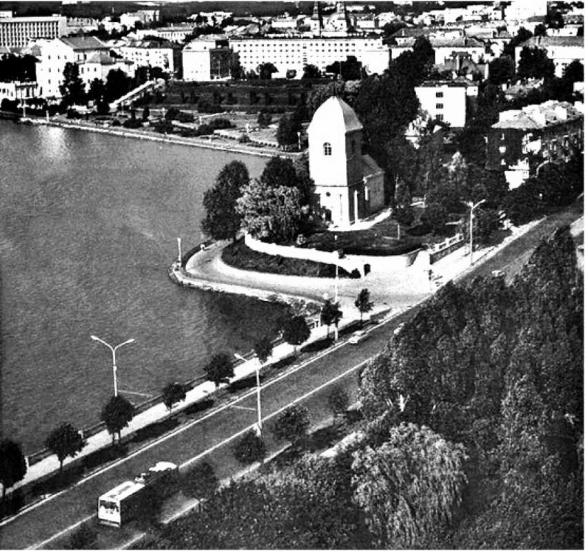 Як виглядав Тернопіль з висоти пташиного польоту у 80-х роках (фотофакт)