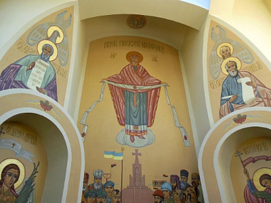 Дивовижний розпис каплиці УСС на Тернопільщині (ФОТО)